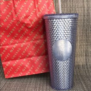 NWT Starbucks Iridescent Cold Cup Holiday 2019